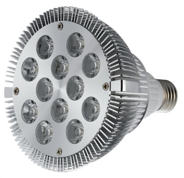 LL05 - Lâmpada PAR 38 Led Branca 6000K 12W CHROME Bivolt
