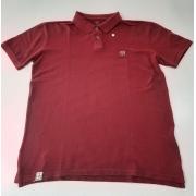 Camisa Polo Bordô