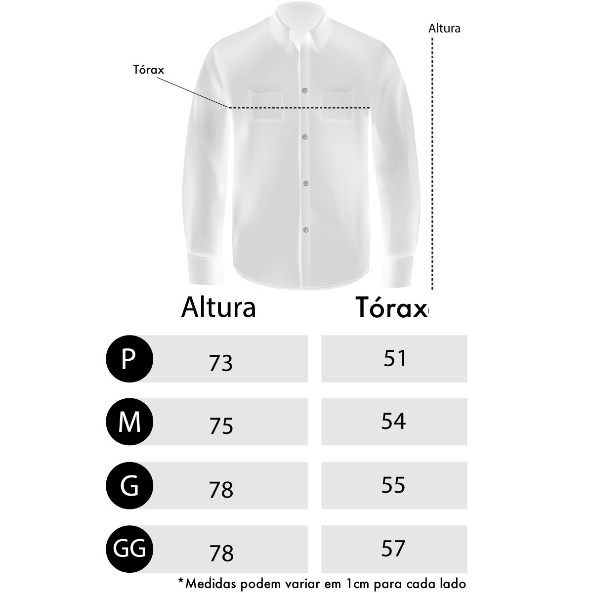 Camisa Marinho Masculina