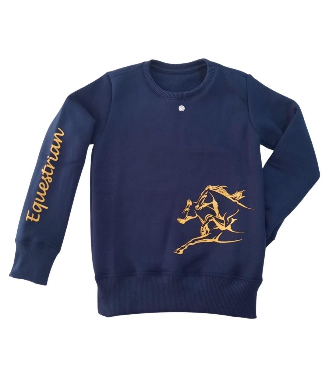 Moletom Equestrian Infantil