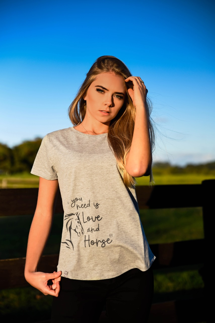 T-Shirt Love and Horse