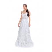 Vestido de Noiva Corset Pássaros