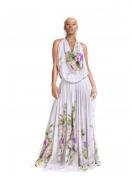 Vestido Gola Boba Floral Estampado