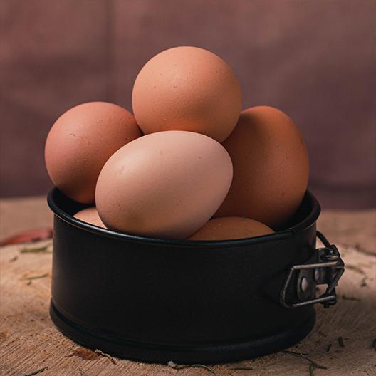 Dúzia de ovos caipira