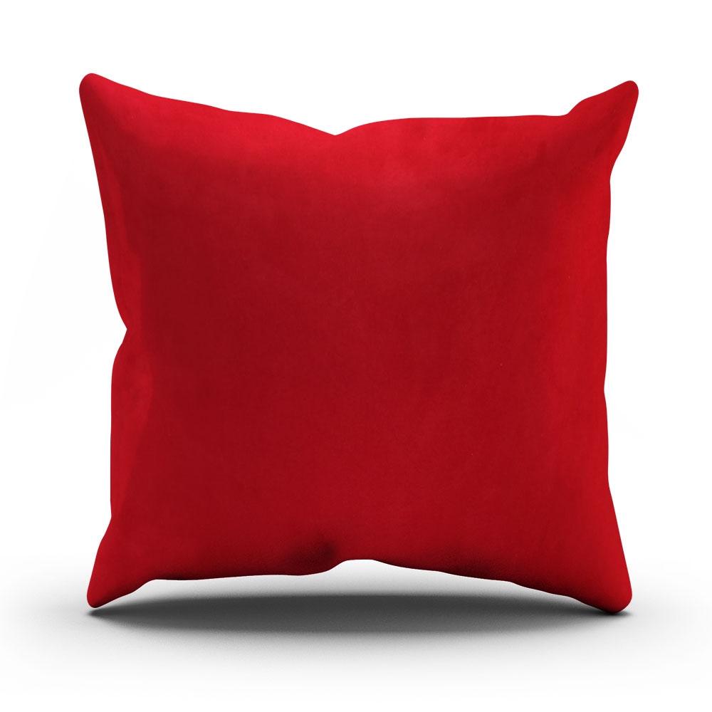 Almofada Cheia Vermelha 43x43cm