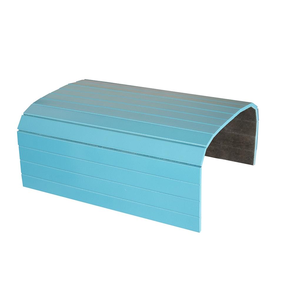 Esteira Laqueada para Braço de Sofá Azul Turquesa