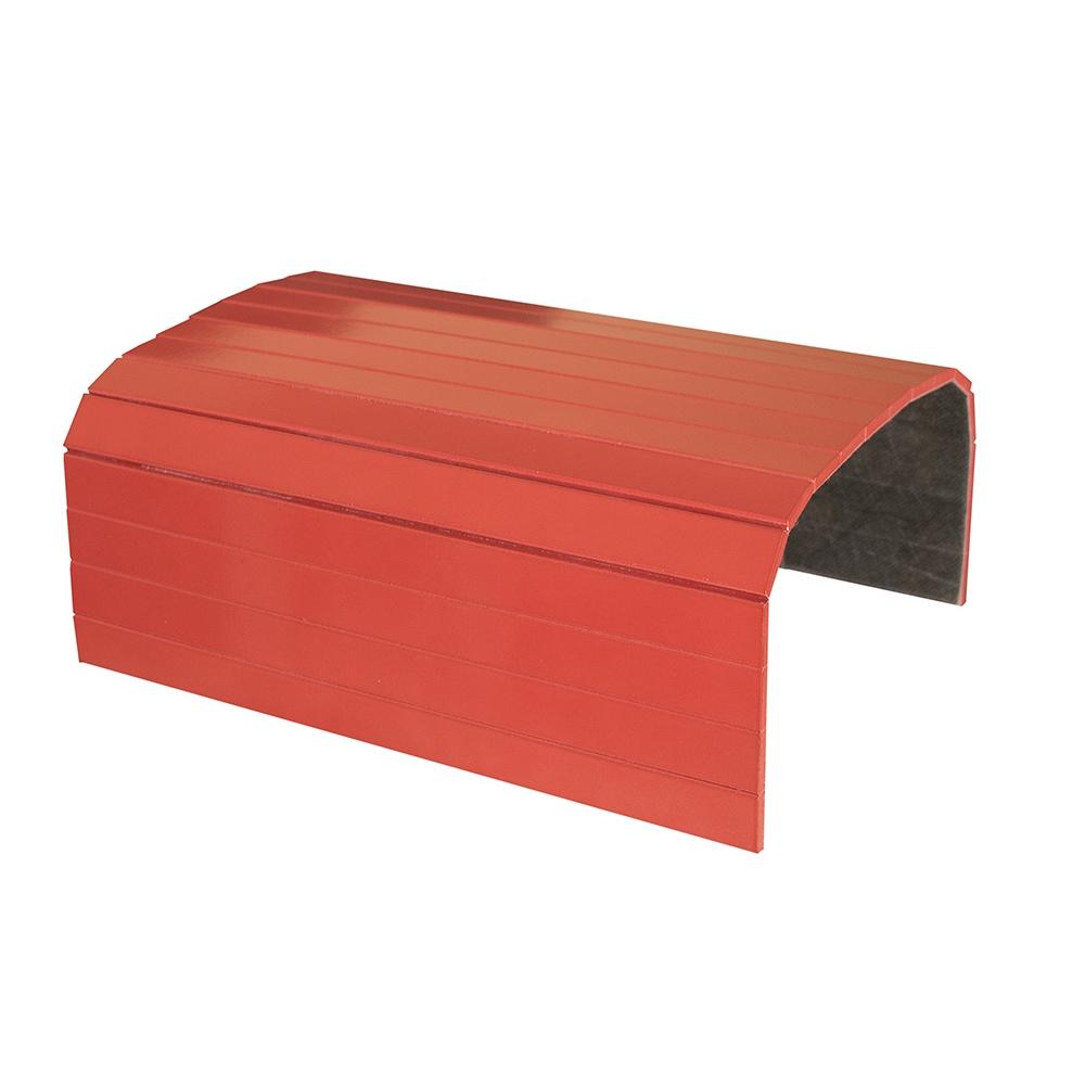 Esteira Laqueada para Braço de Sofá Vermelha