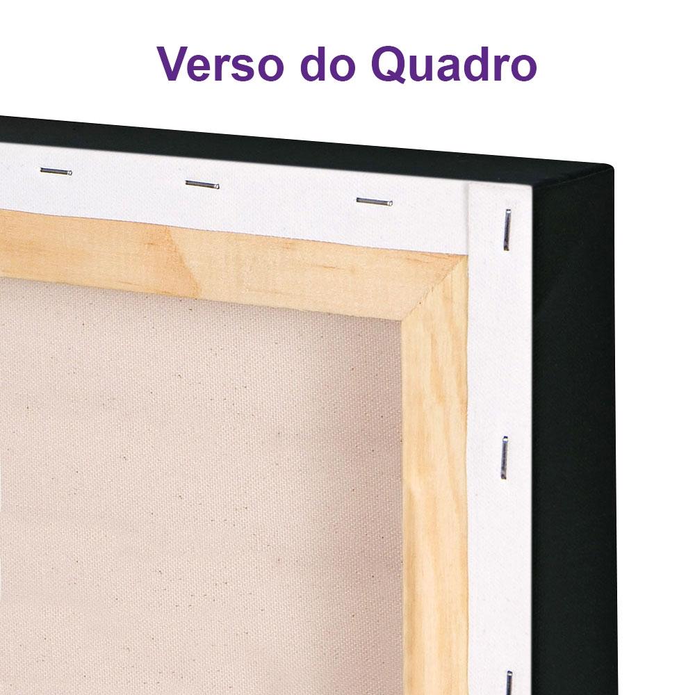 Kit 4 Quadros Cozinha Vintage Cozinheiros Canvas 30x30cm-COZ11