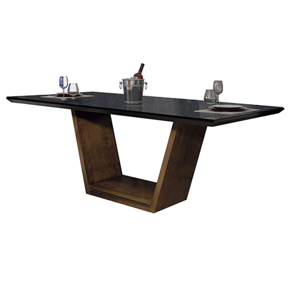 Mesa Para Sala De Jantar Munique 220x110cm Greice Móveis