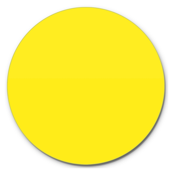 Prato Giratório Centro De Mesa Laqueado Amarelo 70cm