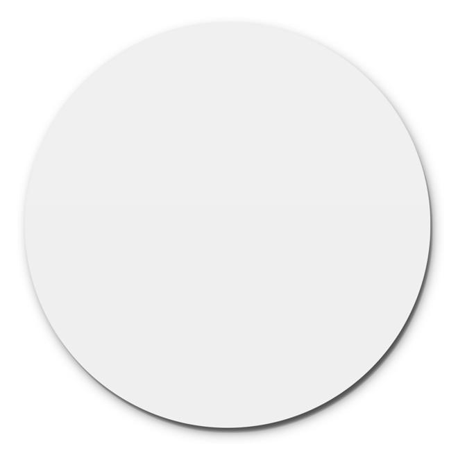 Prato Giratório Centro De Mesa Laqueado Branco 70cm