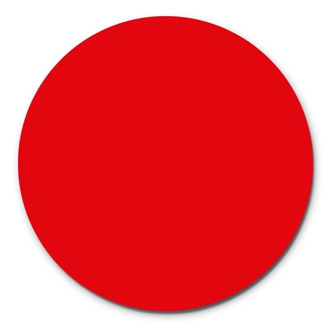 Prato Giratório Centro De Mesa Laqueado Vermelho 70cm