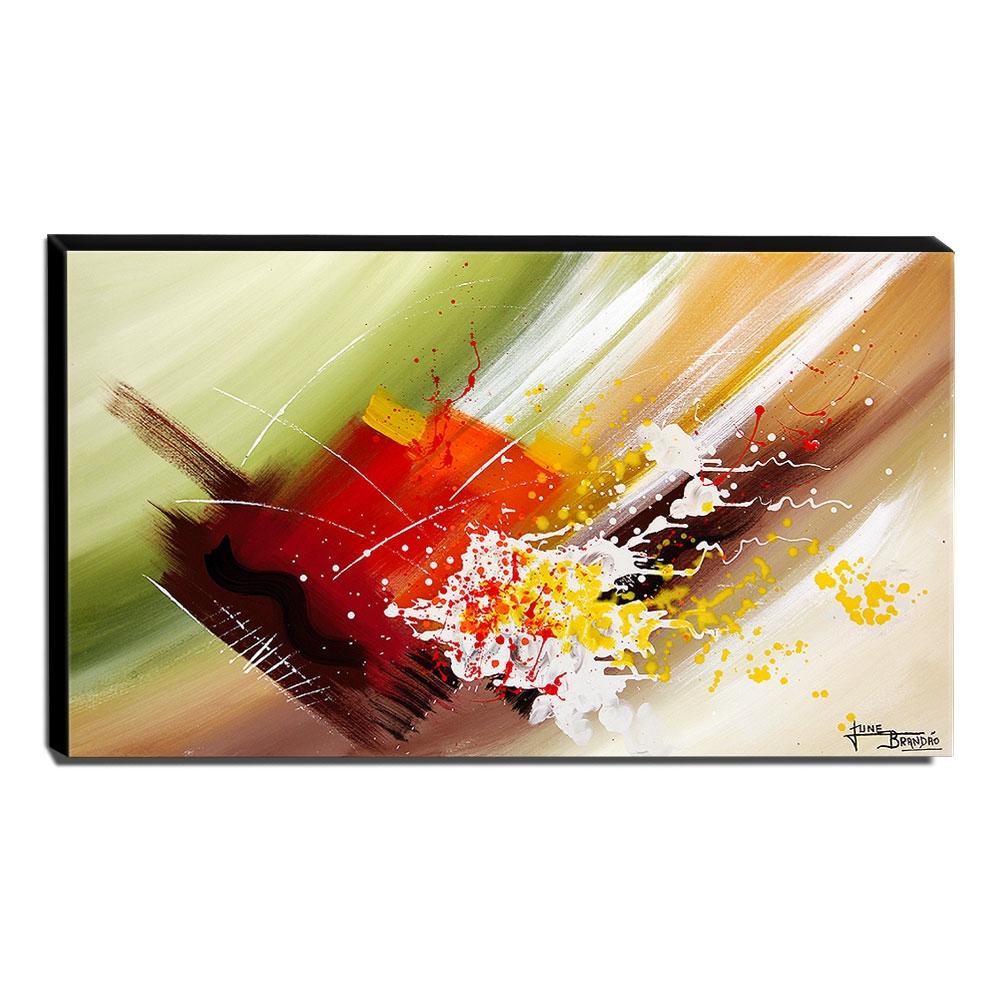 Quadro de Pintura Abstrato 60x105cm-1524