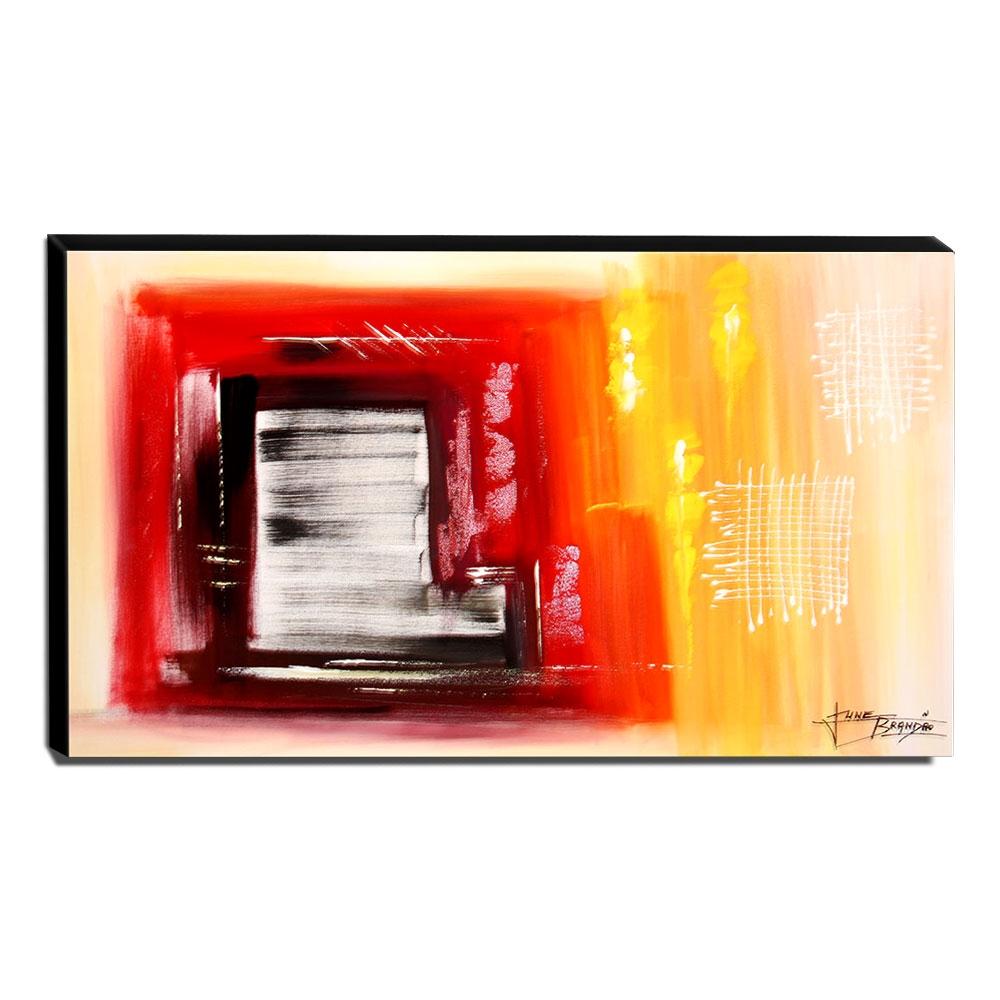 Quadro de Pintura Abstrato 60x105cm-1552