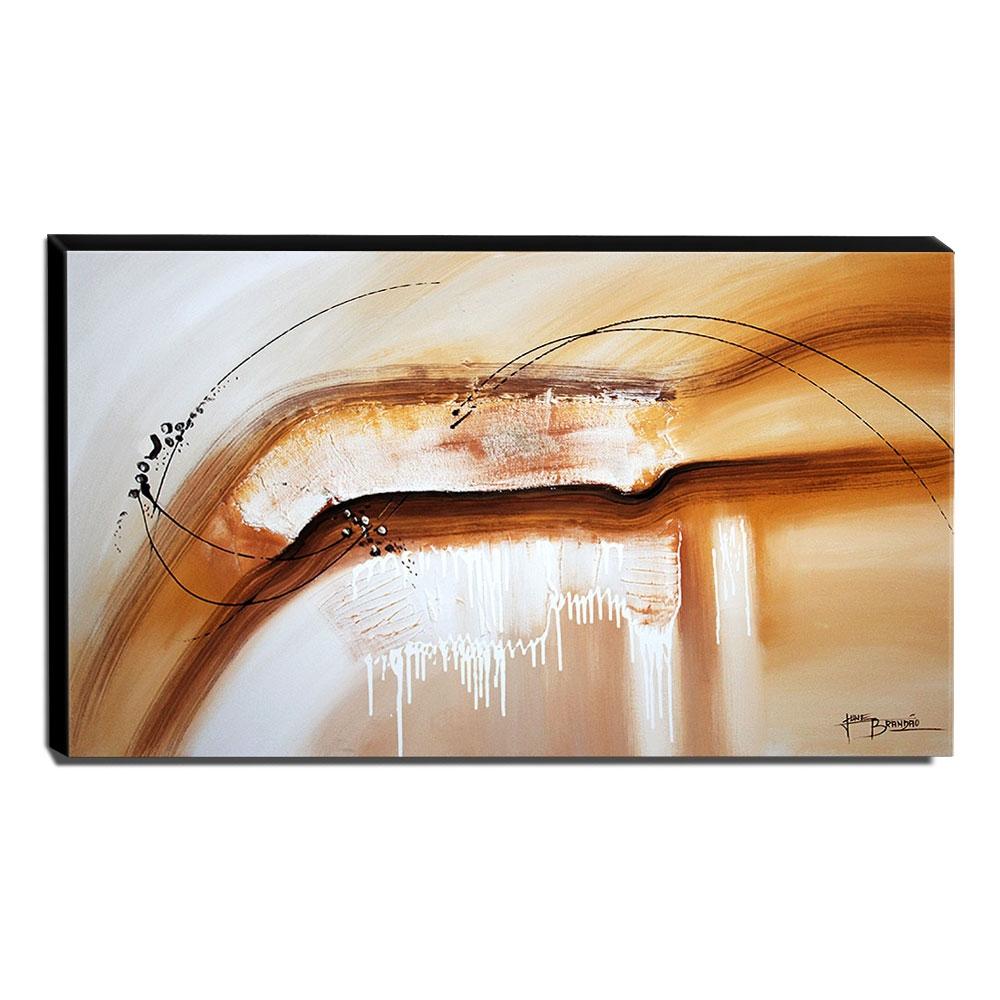 Quadro de Pintura Abstrato 60x105cm-1610