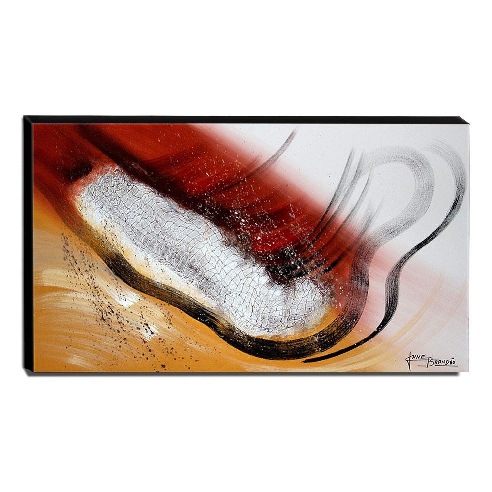 Quadro de Pintura Abstrato 60x105cm-1654