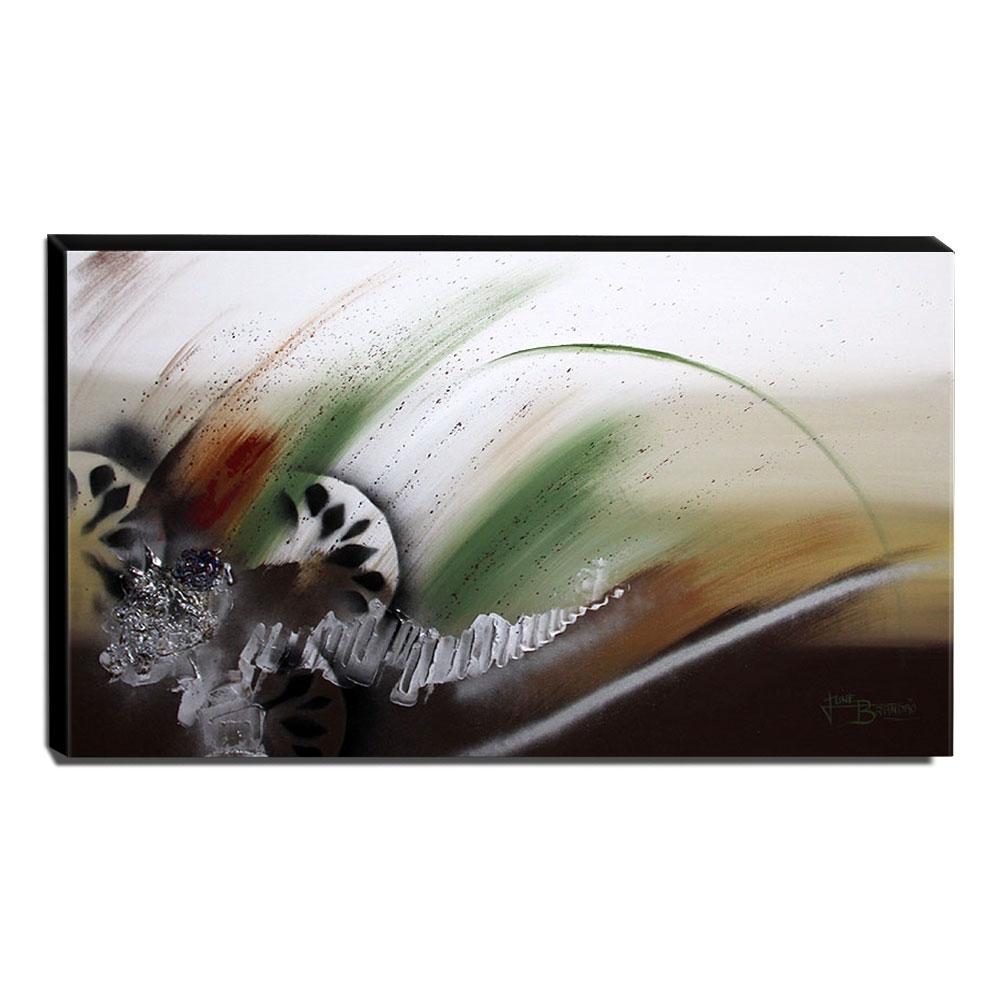 Quadro de Pintura Abstrato 70x120cm-1189