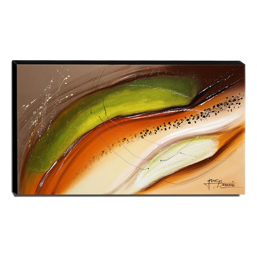 Quadro de Pintura Abstrato 70x120cm-1466