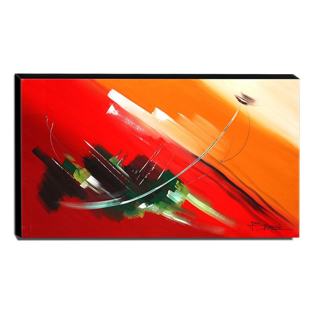 Quadro de Pintura Abstrato 70x120cm-1490