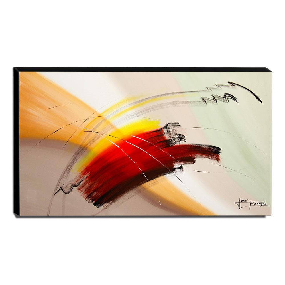 Quadro de Pintura Abstrato 70x120cm-1504