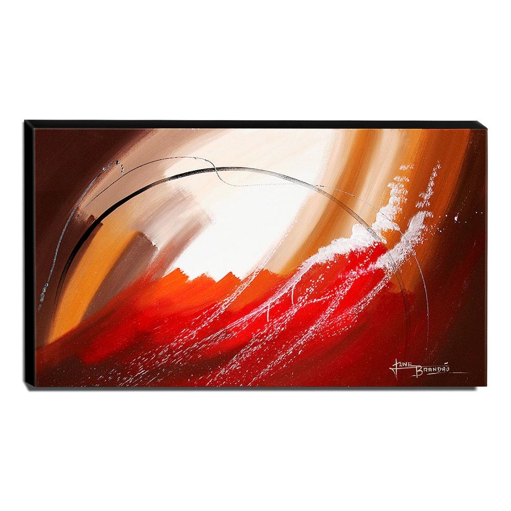 Quadro de Pintura Abstrato 70x120cm-1573