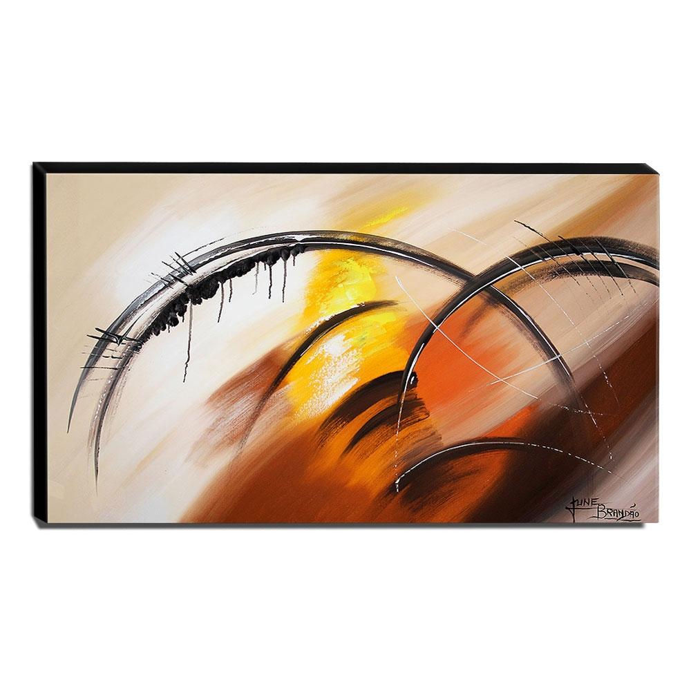 Quadro de Pintura Abstrato 70x120cm-1601