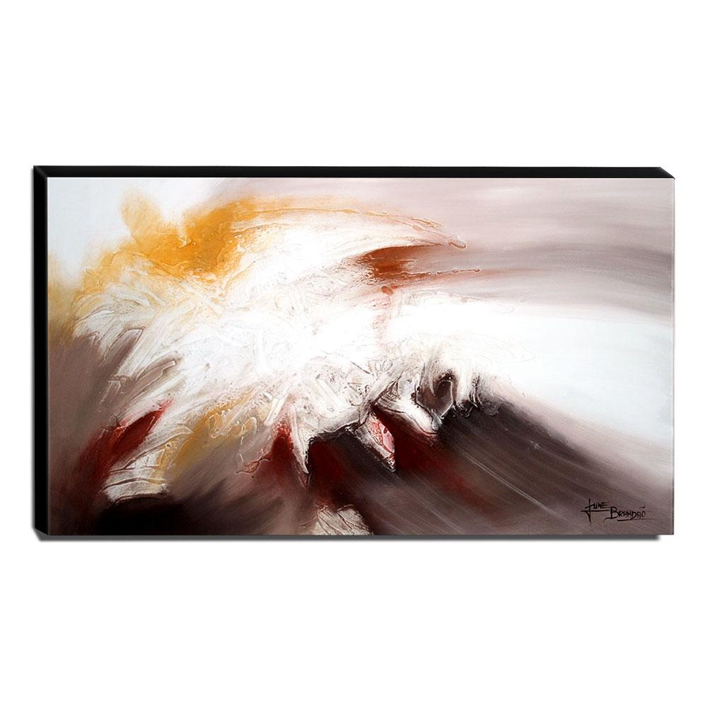 Quadro de Pintura Abstrato 70x120cm-1609