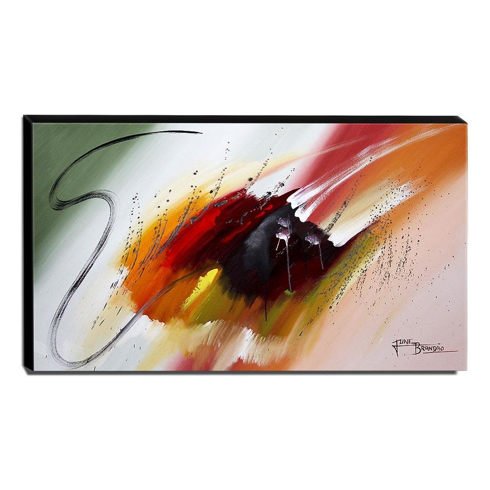Quadro de Pintura Abstrato 70x120cm-1647
