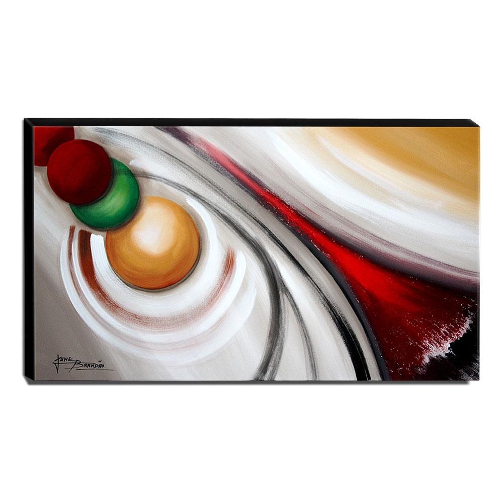 Quadro de Pintura Abstrato 70x120cm-1669