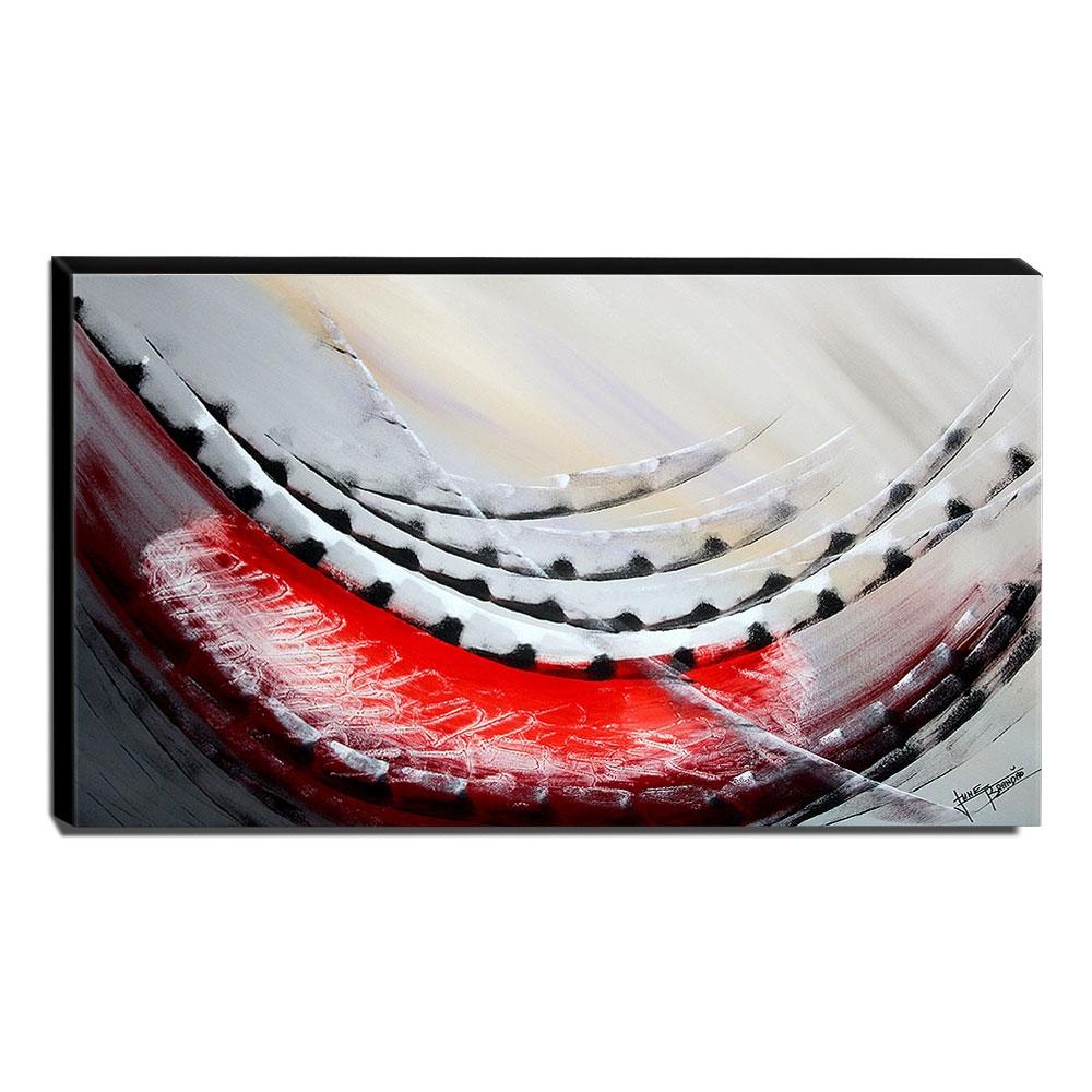 Quadro de Pintura Abstrato 70x120cm-1678