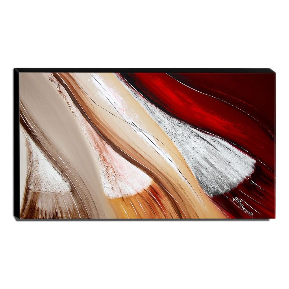Quadro de Pintura Abstrato 70x120cm-1679