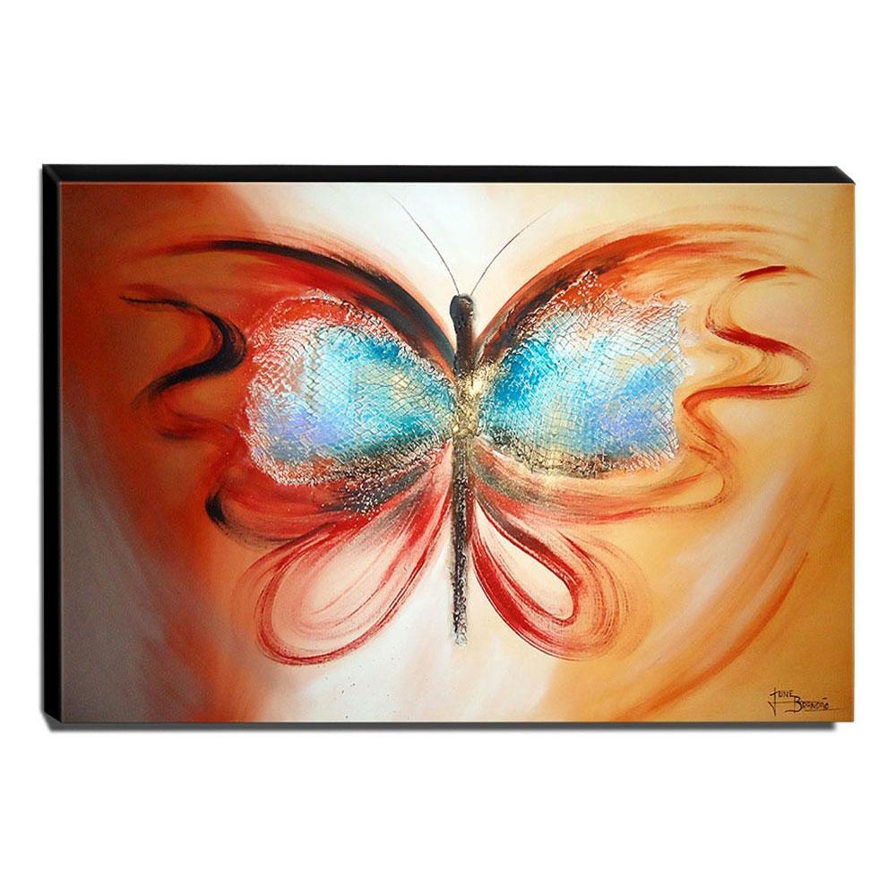 Quadro de Pintura Borboleta 80x115cm-1074