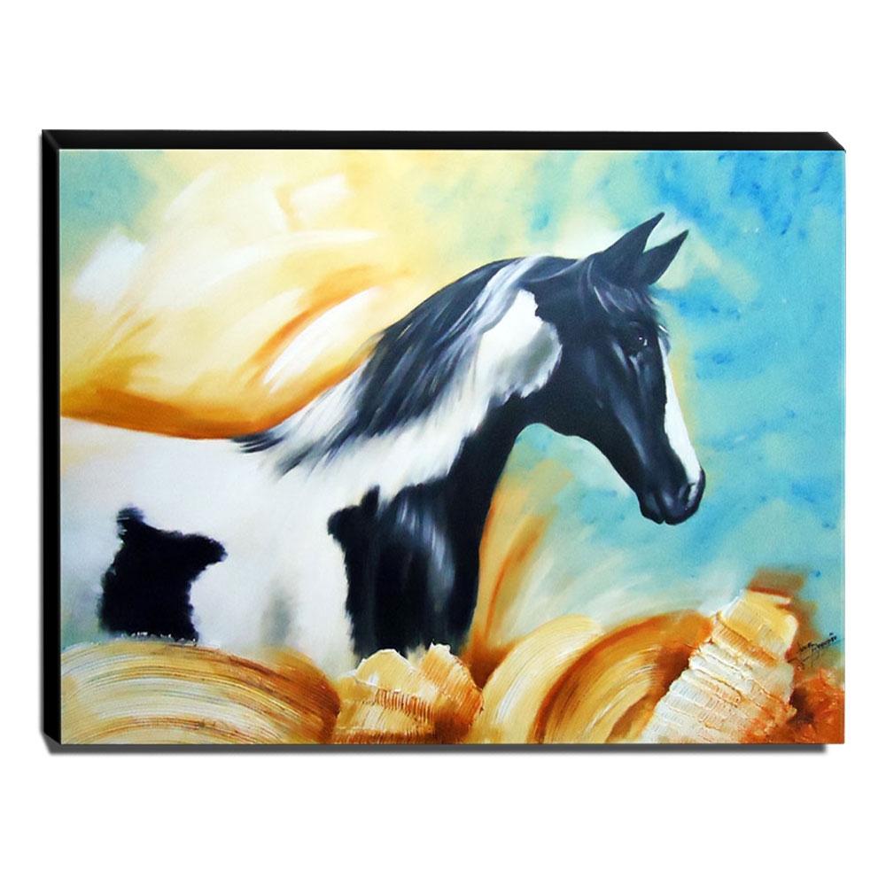 Quadro de Pintura Cavalo 80x110cm - 0442