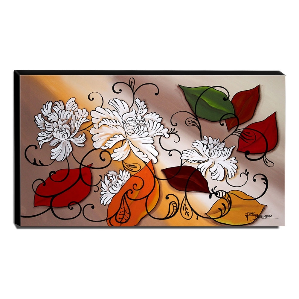 Quadro de Pintura Decorativo 60x105cm-1643
