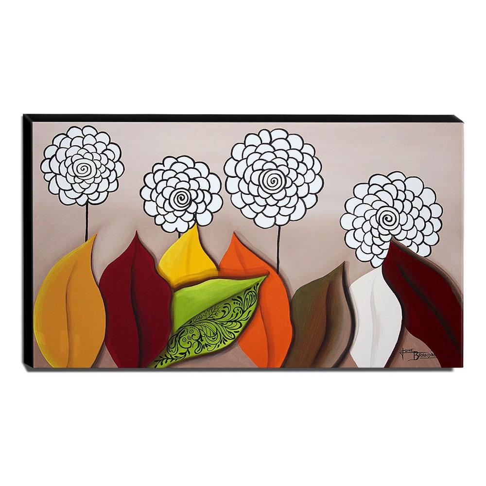 Quadro de Pintura Decorativo 60x105cm-1644