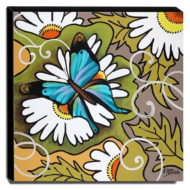 Quadro de Pintura Decorativo 60x60cm-1689