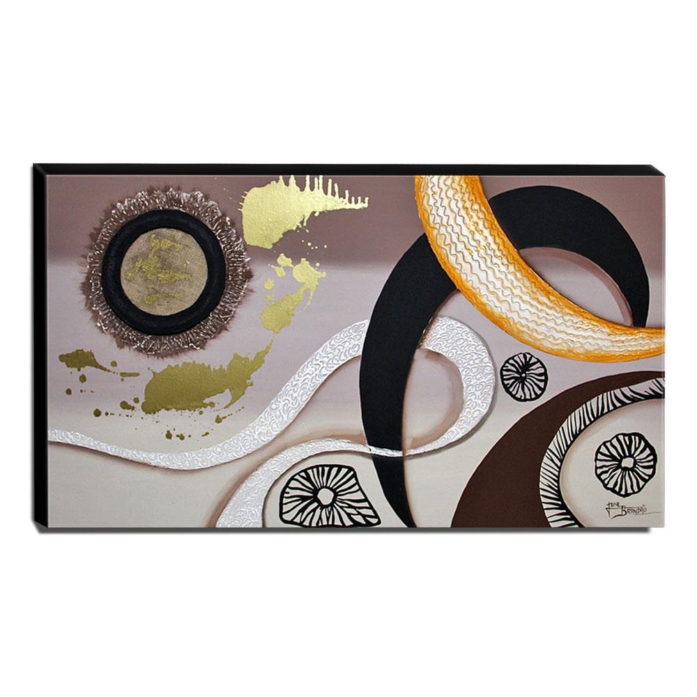 Quadro de Pintura Decorativo 70x120cm-1169