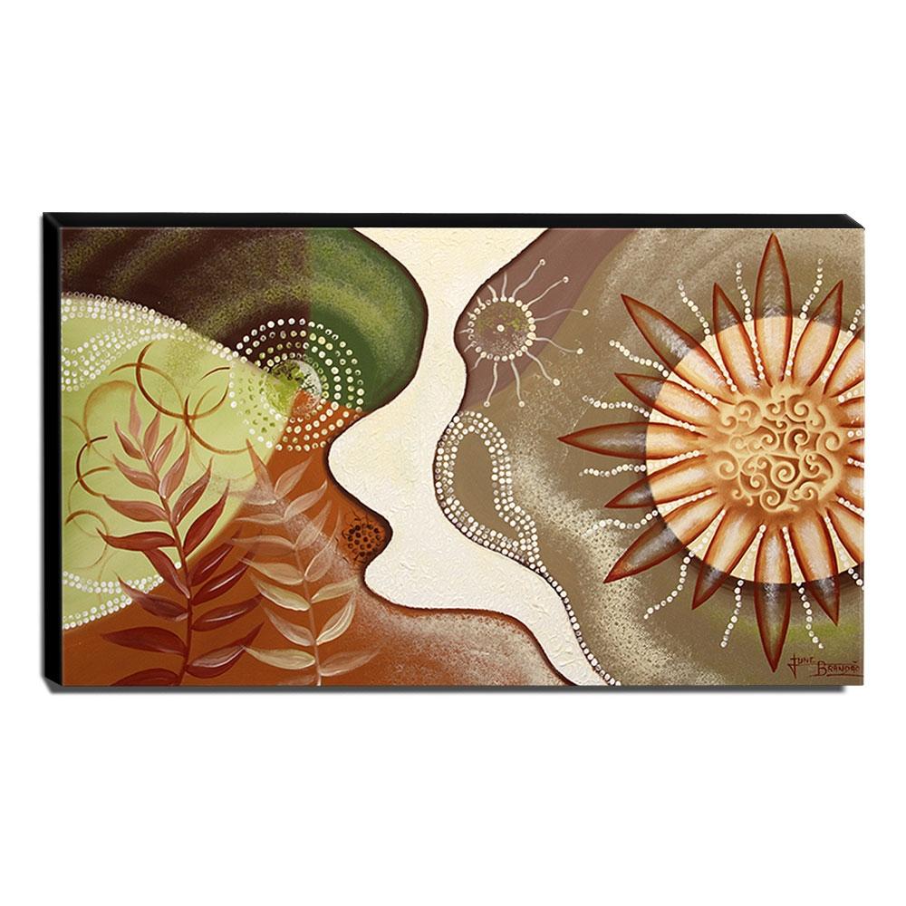 Quadro de Pintura Decorativo 70x120cm-1419