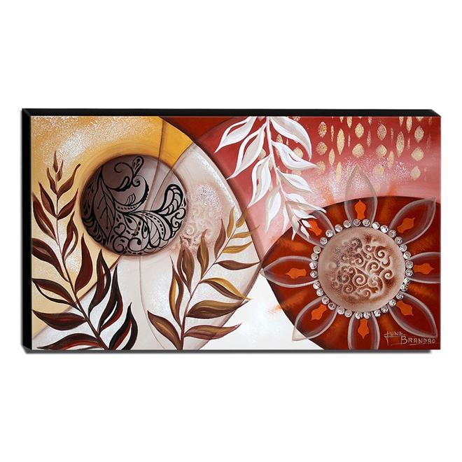 Quadro de Pintura Decorativo 70x120cm-1641