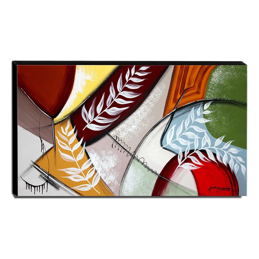 Quadro de Pintura Decorativo 70x120cm-1674