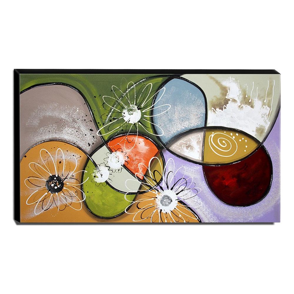 Quadro de Pintura Decorativo 70x120cm-1692