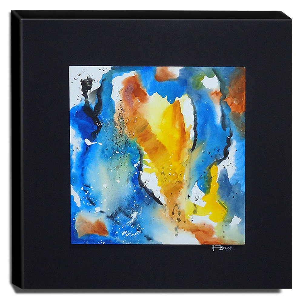 Quadro de Pintura Decorativo 70x70cm-0876