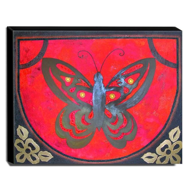 Quadro de Pintura Decorativo 80x100cm - 0369