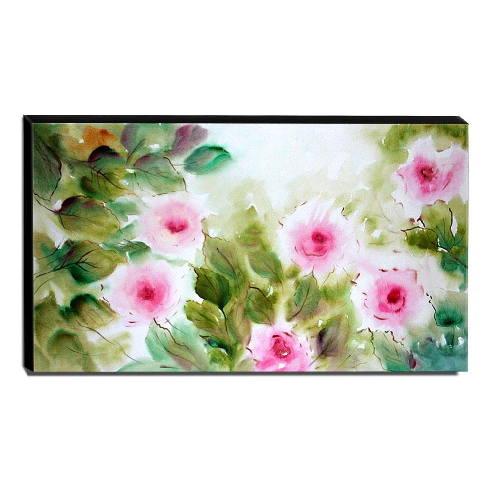 Quadro de Pintura Floral 70x120cm-1569