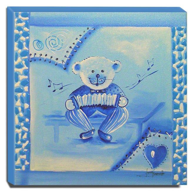 Quadro de Pintura Infantil 30x30cm - 0327
