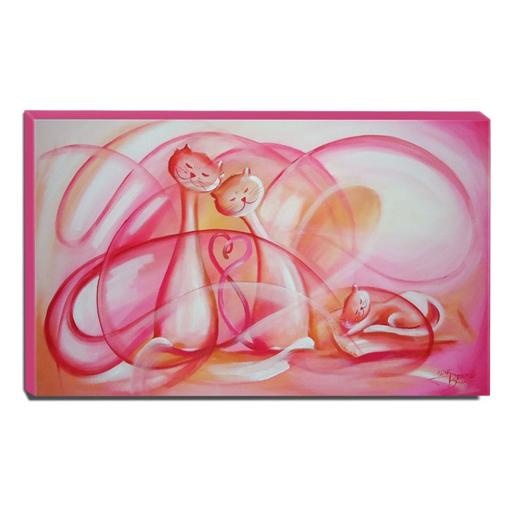 Quadro de Pintura Infantil 50x85cm-0478
