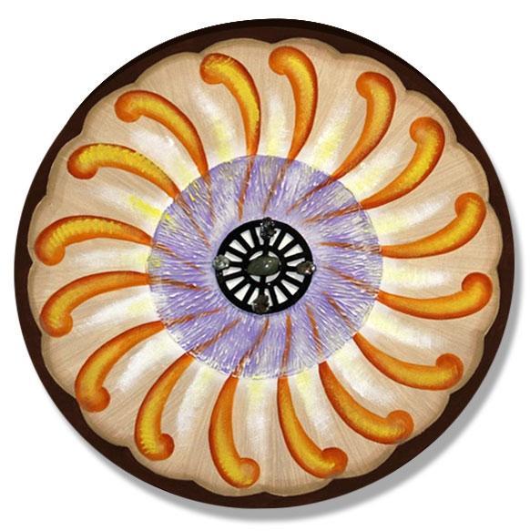 Quadro de Pintura Mandala 50cm-1296
