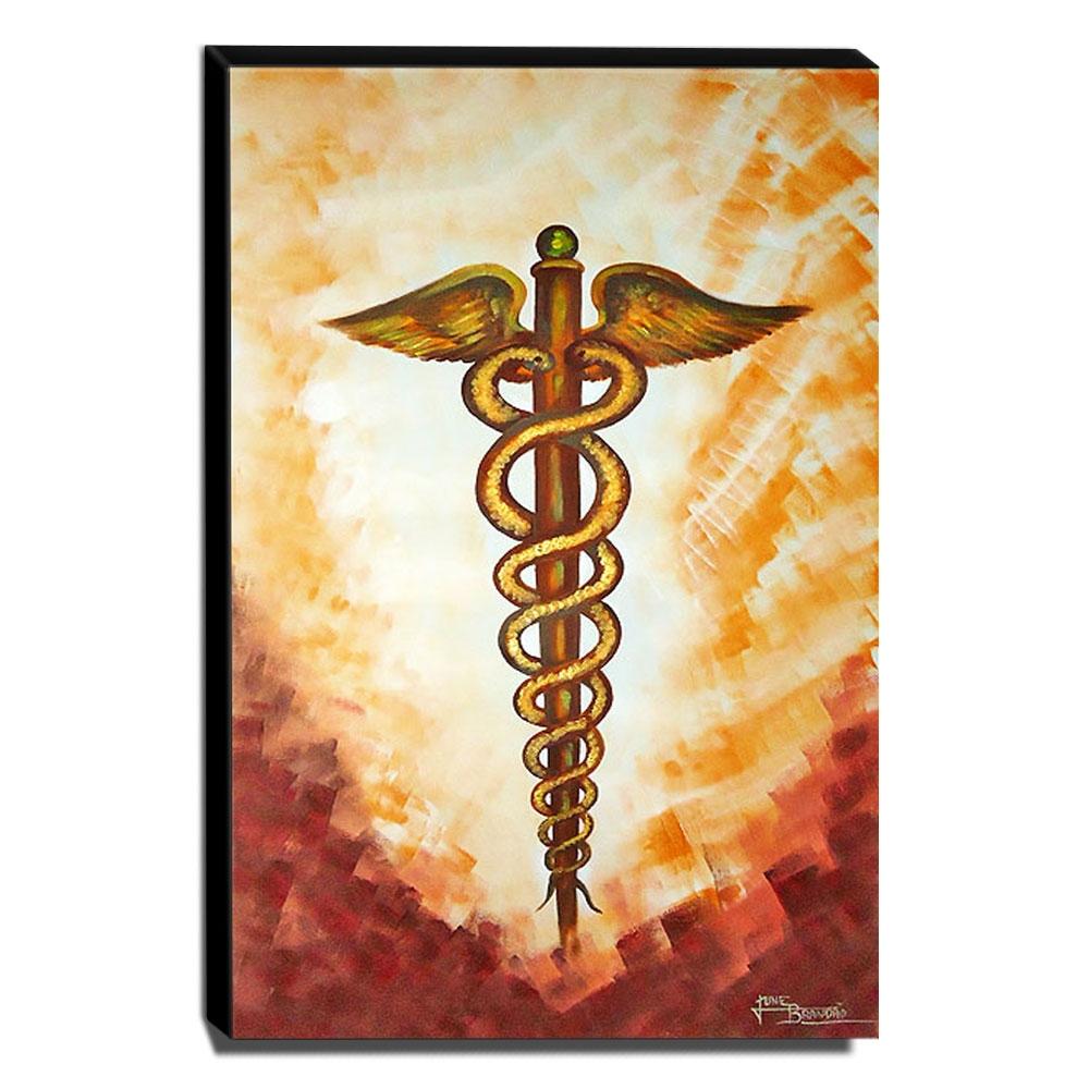 Quadro de Pintura Medicina 100x65cm-0956