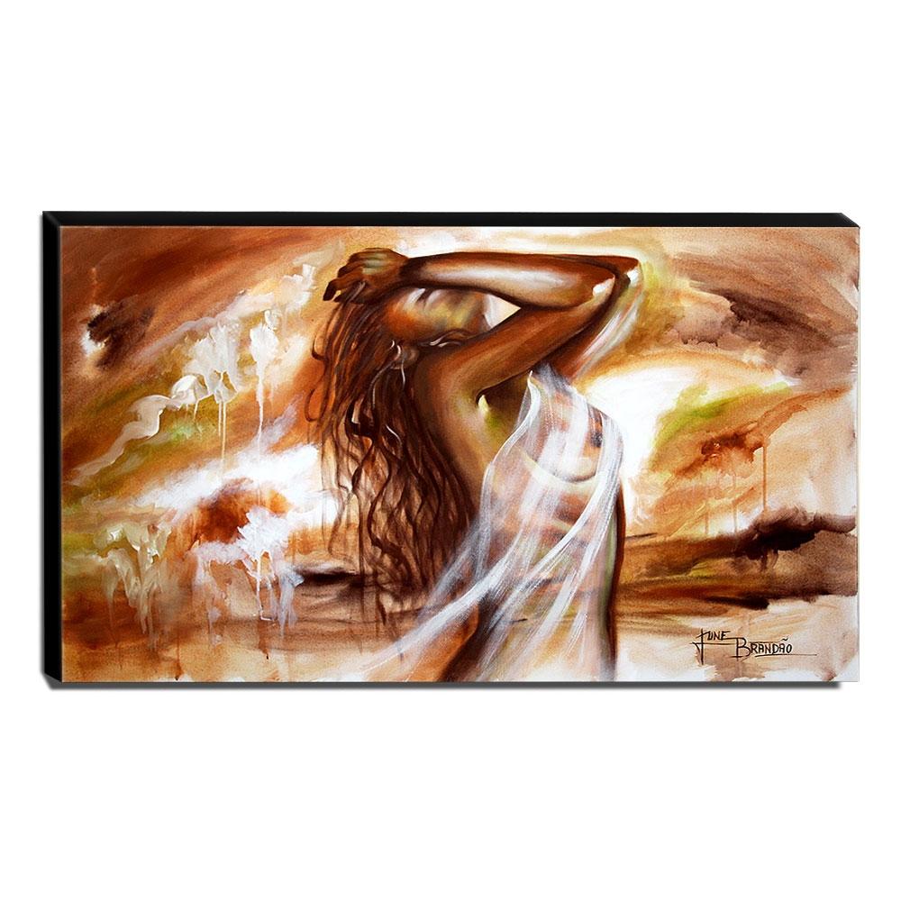 Quadro de Pintura Nu 70x120cm-1606