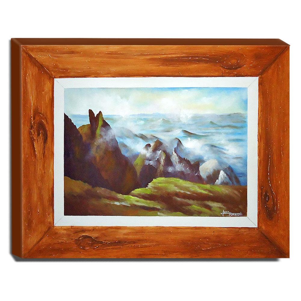 Quadro de Pintura Serra dos Orgãos 80x100cm-0981